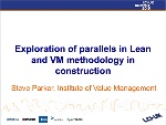 Exploration of parallels in Lean