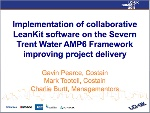 Implementation of collaborative LeanKit software