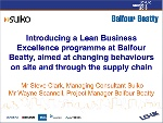 Introducing a Lean Business